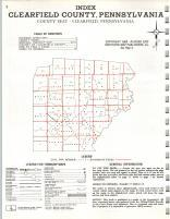 Index Map, Clearfield County 1973